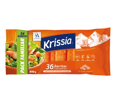 Barritas Krissia - Pack Familiar
