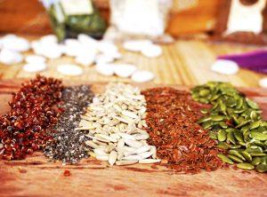 Clases de semillas y propiedades