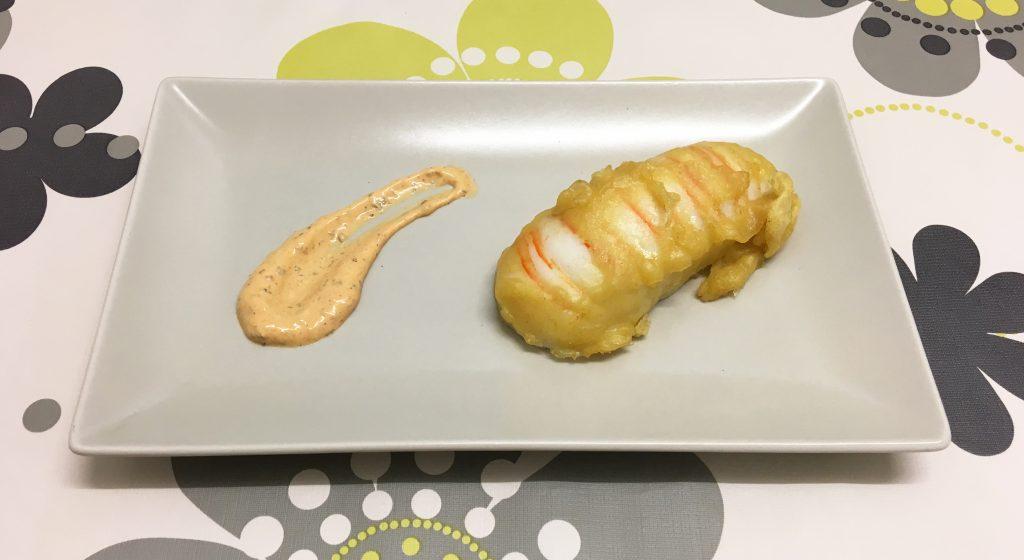 Colas del océano en tempura - Por: Recetas para Cocinillas
